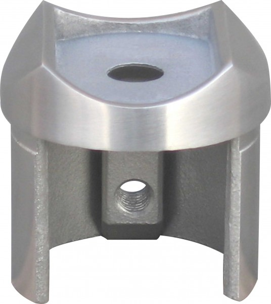 Aufsatz für Nutrohr V2A für Nutrohr 48,3x1,5mm