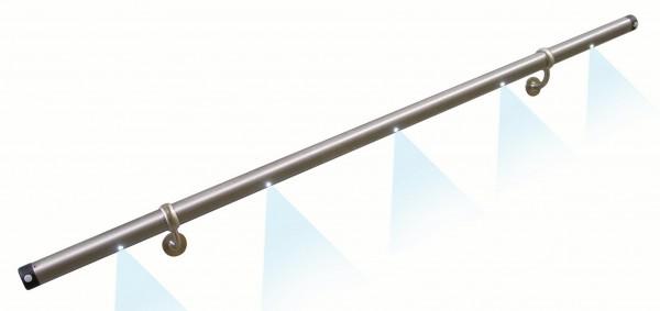 Licht-Handlauf LH2,ø 42,4x1500mm Länge, Edelstahl,