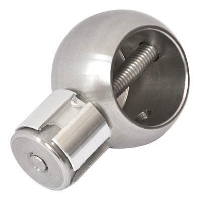 Eckkugel ø38mm mit Rohrkupplung für Rohr ø25mm