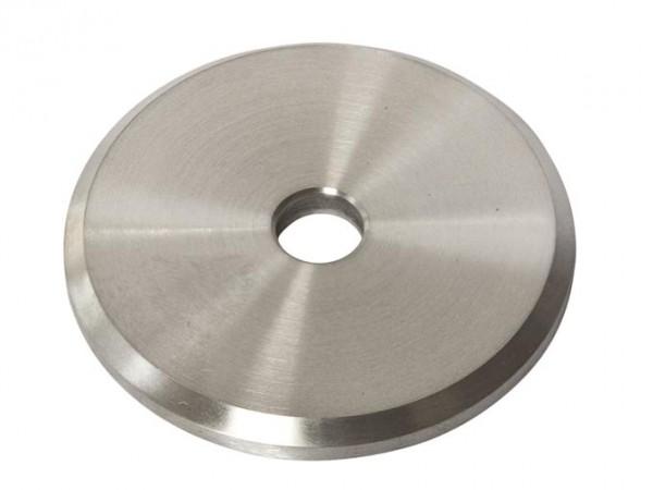 Ronden 60/5mm V2A-Laserschnitt, Mittelloch 10mm