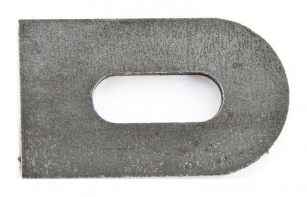 Anschweißlasche 50x30x5mm Eisen roh