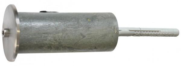 Kunststoffdistanz ø60x150, Stockschraube M10x140