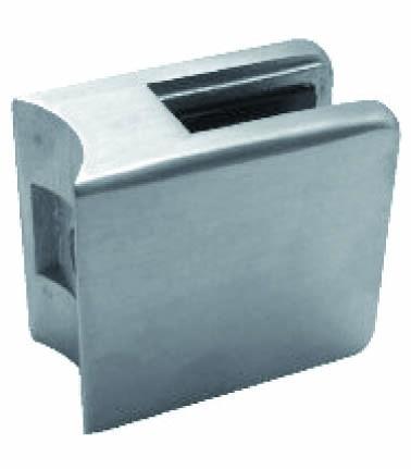 Glashalter V2A,Größe 45/45mm,Vireck,Rohr 48,3mm,