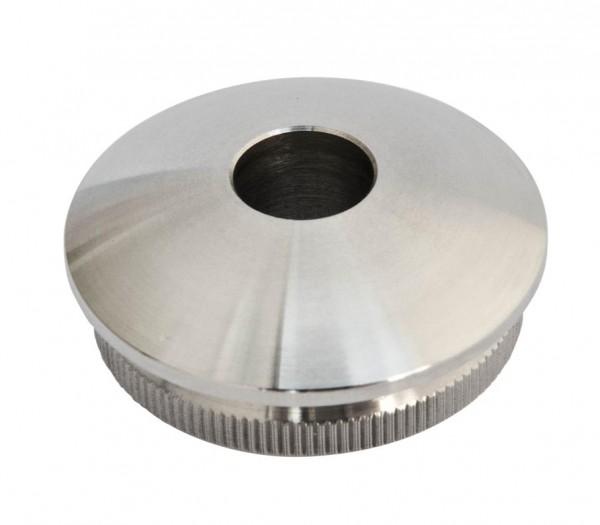 Rohr-Endkappen, 42,4/2mm, V2A,massiv,