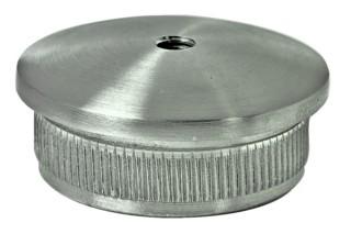 Endkappe V4A,Guss hohl,M8,Aisi 316 f.Rohr 42,4/2mm
