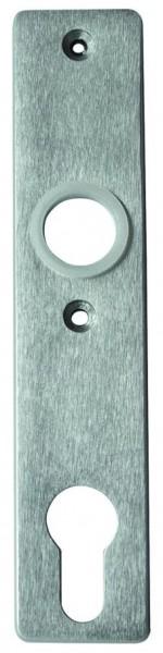 Schild Leichtmetall F1 für Schlosskasten,158x30mm