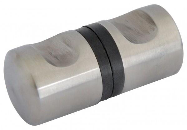 Glastür-Knöpfe (mit Gummidichtung) V2A,L=30mm,ø30