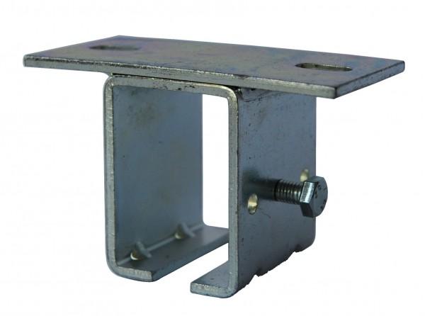Deckenhalter für Laufschiene 53x42mm