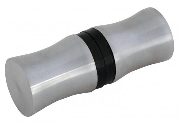 Glastür-Knöpfe (mit Gummidichtung) V2A,L=35mm, ø30