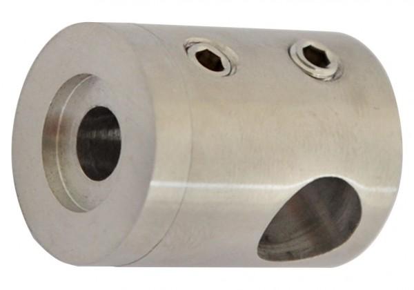 Traversenhalter mit Sackloch f. Rohre ø42,4mm