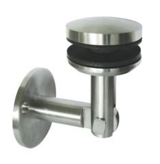 Glashalter V2A,Platte ø50mm,f.Glasstärken von 8-12