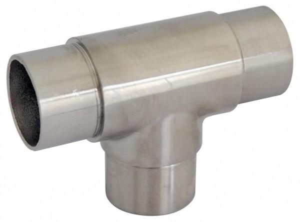 Rohr-Verbinder (T-Stück) V2A, f. Rohr 42,4/2mm