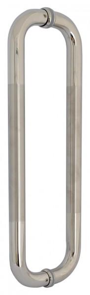 Stossgriffe für Glastüren,Edelstahl V2A, L 450mm