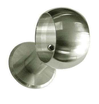 Kugelring ø 55 mm mit Wandanschluss