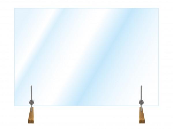 Hygiene-Schutzglas Typ 2, höhenverstellbar