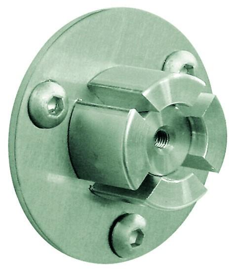 Wand-Endhalter Handlauf f. Metallhandlaufø42,4x2mm