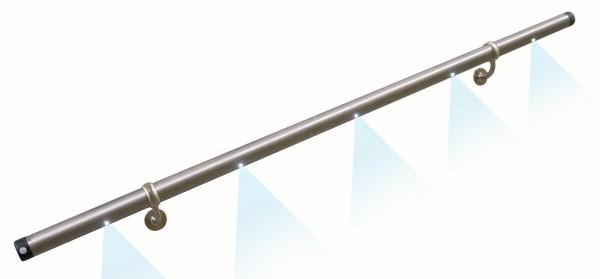 Licht-Handlauf LH1, ø 42,4x1500mm Länge, V2A,