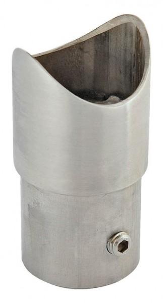 Anschlussstück, V2A f. Rohr 42,4/2mm